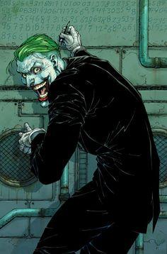 Comic Del Joker, Joker Dc Comics, Marvel Comics, Joker Poster, Comic Poster, Joker Art, Batman Art, Gotham Batman, Green Lantern Corps