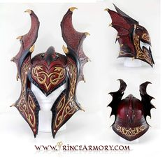 Flame Armor Leather Helmet Compiled by =Azmal on deviantART