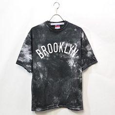 02DERIV. / Speckled Dye Brooklyn Souvenir Tee