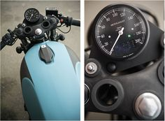 The Wrenchmonkees have just released details of the bike that represents a half-century of custom motorcycle builds from the Denmark based workshop. Yamaha Motorbikes, Yamaha Motorcycles, Vintage Motorcycles, Custom Motorcycles, Custom Bikes, Yamaha Cafe Racer, Cafe Bike, Cafe Racing, Auto Racing