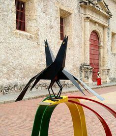 Escultura de Mariamulatas en Cartagena de Indias