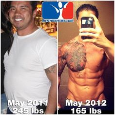 11 Body transformations  before and after photos