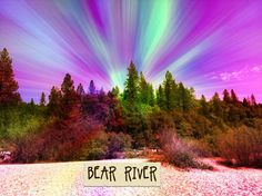Bear River, placer hill road , ca
