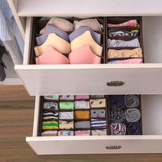 10 Bedroom Organization Ideas, Storage Tips For A Clutter-Free Space · My Daily Crew An organized bedroom not only looks great but also helps you relax in your space. We give you 10 bedroom organization ideas for a clutter-free space. Bedroom Organisation, Closet Organization, Organized Bedroom, Dresser Drawer Organization, Organization Ideas For Bedrooms, Bedroom Storage Ideas For Small Spaces, Organizing Small Bedrooms, Organisation Ideas, Stylish Bedroom