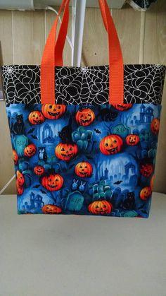 Halloween Childrens Halloween Trick or Treat Bag Pumpkin