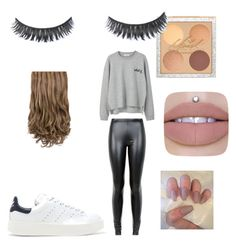 """outfit for school🤙"" by eleonora-sermon on Polyvore featuring moda, MANGO, JDY e adidas Originals"