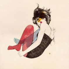 Conrad Roset's Fragile Watercolor Muses – Fubiz Media