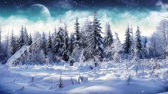 Free Microsoft Screensavers Winter Scene | Download Cold Winter Animated Wallpaper | DesktopAnimated.com