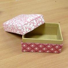 cartonage box with tutorial