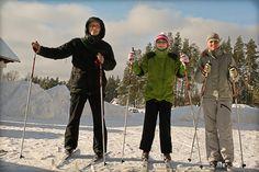 Integracja na nartach biegowych