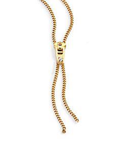 BCBG MAXAZRIA GORGEOUS GOLD TONE TASSEL STRAND LARIAT NECKLACE-$58-NWT!