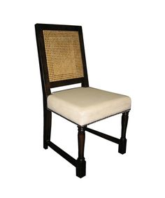 Colonial Caning Chair - Distressed Brown $507