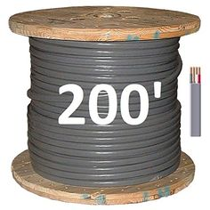 6/3 UF (Underground Feeder – Direct Earth Burial) Cable