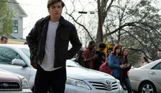 """Nick Robinson felt a """"certain responsibility"""" playing a gay character in the new coming-of-age movie 'Love, Simon'.The actor - who shot to fame in 'Jurassic World' - is starring as Simon Spier in the new LGBT+ coming-of-age movie, but. Nick Robinson, Love Simon Movie, Love Movie, I Movie, Movie Shots, Amor Simon, Teen Movies, Good Movies, Russell T Davies"""