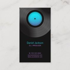 329 Best Dj Business Cards Images In