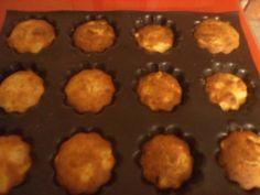 muffins poires/amandes effilées