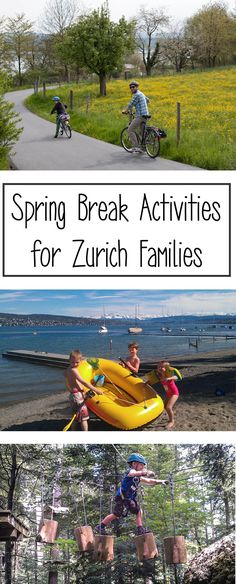 If you're staying in Zurich for the spring school holidays, I've got lots of fun ideas for day trips and special activities for the kids.