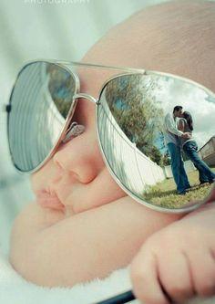Mom & dad & baby photo