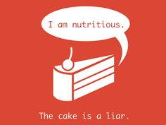 The Cake Is A Liar