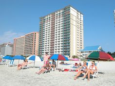 The accommodations at Paradise Resort in Myrtle Beach are refreshingly light and bright and full of energetic ambiance. Suitable for families, Paradise Resort rentals offer spacious vacation units. Situated on the beachfront, your family will literally only be a hop, skip and jump away from the white, sandy beaches for which, SC is so popular. It is a snap to carry beach chairs and all your sand toys to the wide beach where you can stretch out beneath the sun. Call 888-669-7853 for…