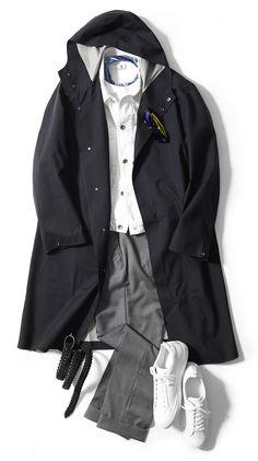 オンオフ使える!! 注目の春アウター3選【コート編】 | メンズファッション | LEON.JP Couple Outfits, Casual Outfits, Men Casual, Vintage Outfits, Vintage Fashion, Vintage Clothing, Contemporary Fashion, Madrid, Winter Fashion