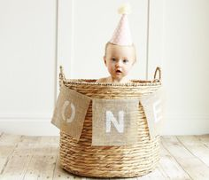 Burlap Banner Baby Birthday One Year Old by SmallPeanuts on Etsy Photography Prop 1st Birthday Banner Cake Smash High Chair Banner First Birthday Photo Shoot Idea