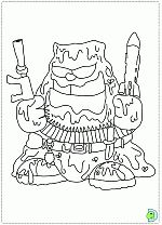 The Trash Pack coloring pages- DinoKids.org