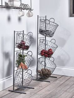 wire outdoor plant stands