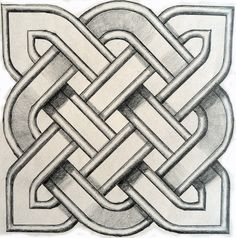 A series of videos showing simple techniques of the construction of Celtic square knot patterns for application in the arts and crafts by David Nichols