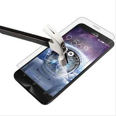 スクリーンプロテクター強化ガラスのためのasus zenfone max zc550kl ze500cl ze551ml selfie go zb551kl a500cg ze500kl保護フィルム