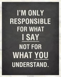 Sometimes I have to remind myself of this for both parties.