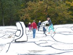 The Kröller-Müller Museum and the art garden are a joy to visit any time of the year!