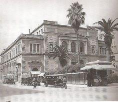 Δεκαετία 1930 - Δημοτικό Θέατρο (νυν Πλατεία Κοτζιά) - Κατεδαφίστηκε το 1939
