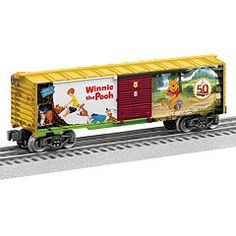 Disney's Winnie the Pooh O Gauge Boxcar by Lionel Trains