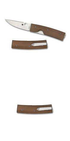 Folding Blade 42577: Spyderco Nilakka Brown Plain Folding Knife C164gpbn -> BUY IT NOW ONLY: $148.98 on eBay!
