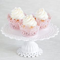 Jogurtové cupcakes Cupcakes, Baking, Desserts, Food, Tailgate Desserts, Cupcake Cakes, Deserts, Bakken, Essen