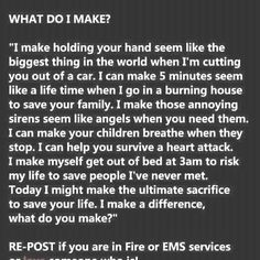 Proud to be an EMT <3
