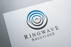 Ring Wave Logo by Heavtryq Design on @creativemarket