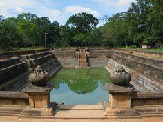 Kuttam Pokuna, Anuradhapura. Sri Lanka