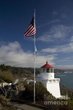 Trinidad Lighthouse by Timothy Johnson Fortuna California, Trinidad California, Places To Travel, Places To Visit, Walk In The Light, Humboldt County, Road Trippin, Winter Travel, Cn Tower