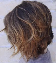Layered Bob For Wavy Hair