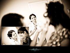 Indian Wedding Beautiful Bride Getting Ready In Irvine