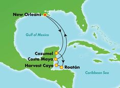 7-Day Western Caribbean from New Orleans