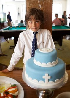 Paolo's First Holy Communion Cake and Reception