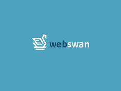 Webswan Drbl by Daniel Bodea #Design Popular #Dribbble #shots