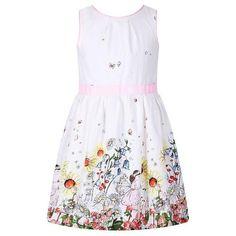 b4272c574bd1 Sleeveless Floral Print Dress for Girls