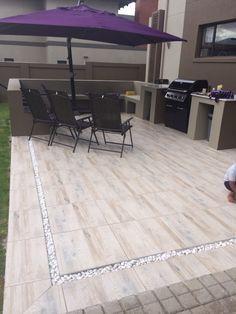 Back yard tilled finish