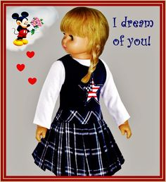 """I DREAM OF YOU  -  SEE THE VIDEO OF THIS DOLL:  """"SHOW AND RARE BEAUTY"""""""