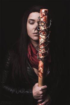 Female Negan from The Walking Dead