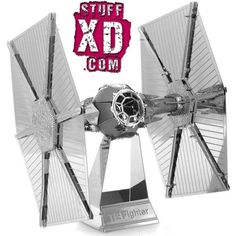 2015 New Arrival Star Wars Tie Fighter Fun Metal Diy Steel Scale Miniature Model Kids Puzzle Toys Jigsaw Adults Hobby Kits Metal Puzzles, 3d Puzzles, Star Destroyer, R2d2 Robot Toy, Grand Moff Tarkin, Metal Building Kits, Model Building, Building Toys, Diy 3d